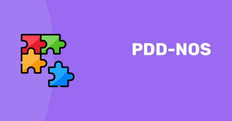 הפרעה התפתחותית נרחבת PDD NOS