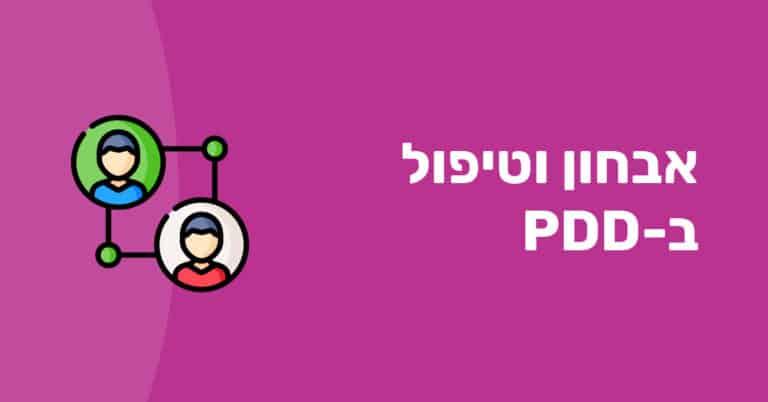 טיפול ב-PDD